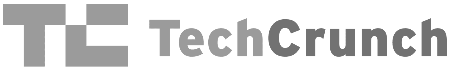 Greyscale Logo For Tech Crunch