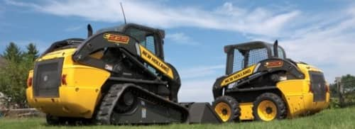 Tracked and wheeled Skid Steer