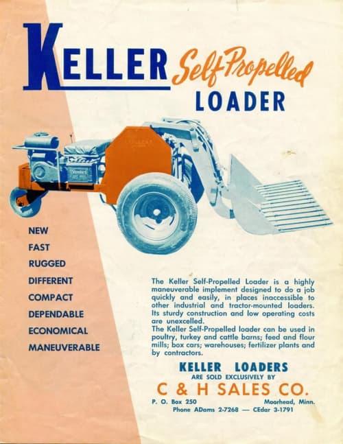 Antique Skid Steer Keller Self Propelled