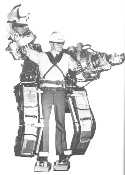 Hardiman exoskeleton