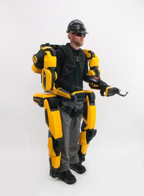 full body exoskeleton design