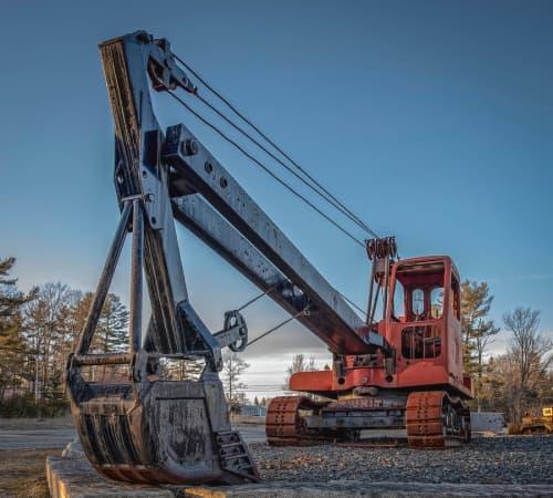 Cabled excavator