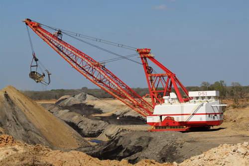 Dragline excavator