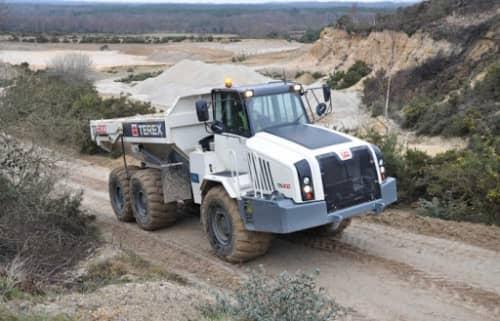 Terex TA300 construction articulating dump truck