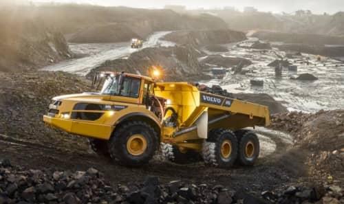 Volvo A45G Articulating dump truck