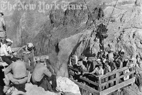 Hoover Dam Workers