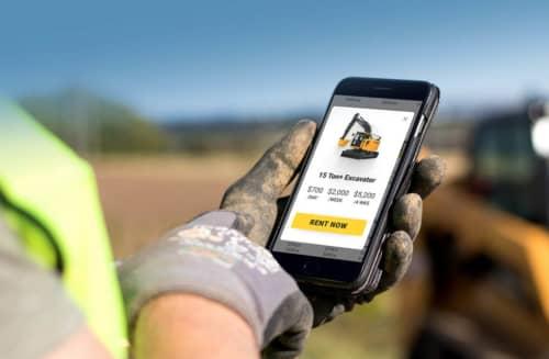 Renting equipment online DOZR Webstores