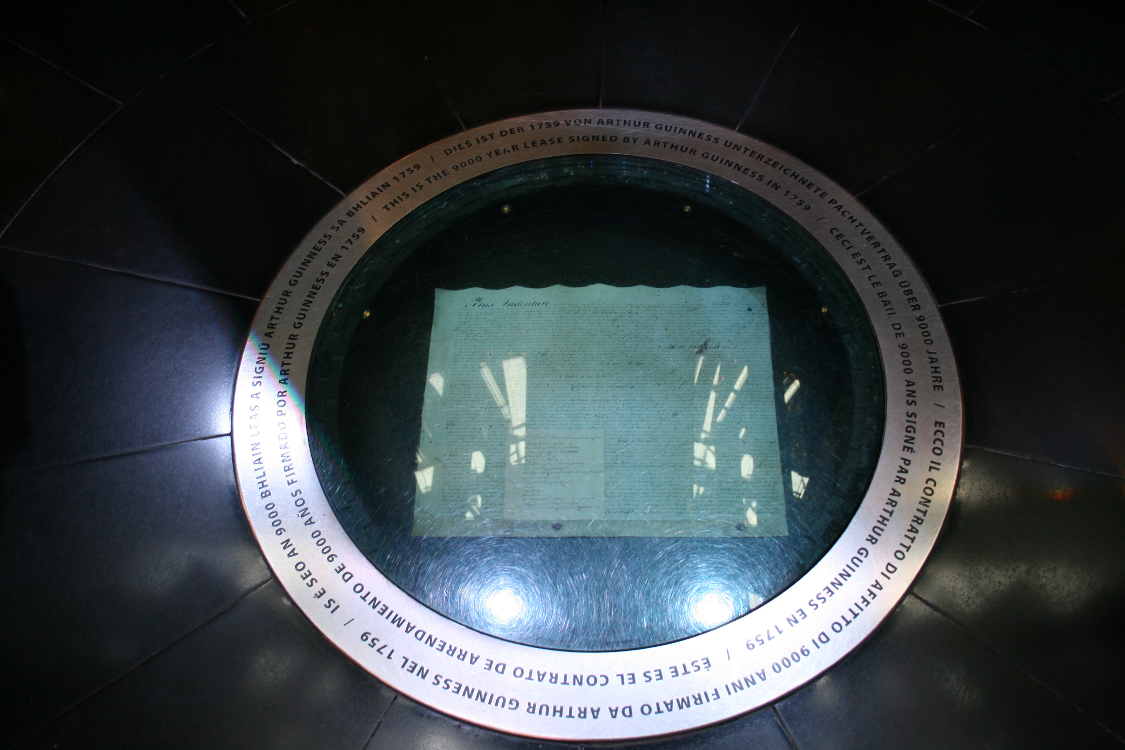 Guinness 9,000 year lease