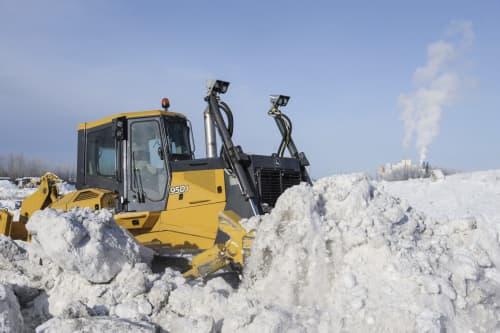 Winter Tractor Image