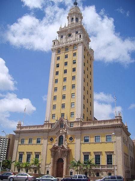 Miami freedom tower full building