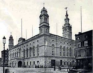 Madison Square Garden in 1890