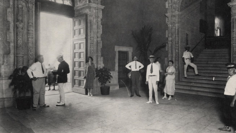 Freedom Tower Lobby in 1920s