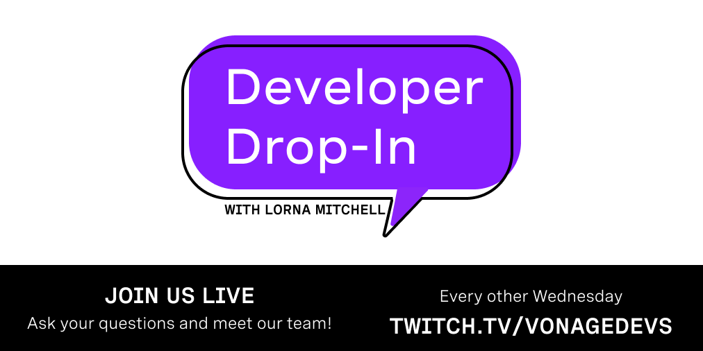 Developer Drop-In