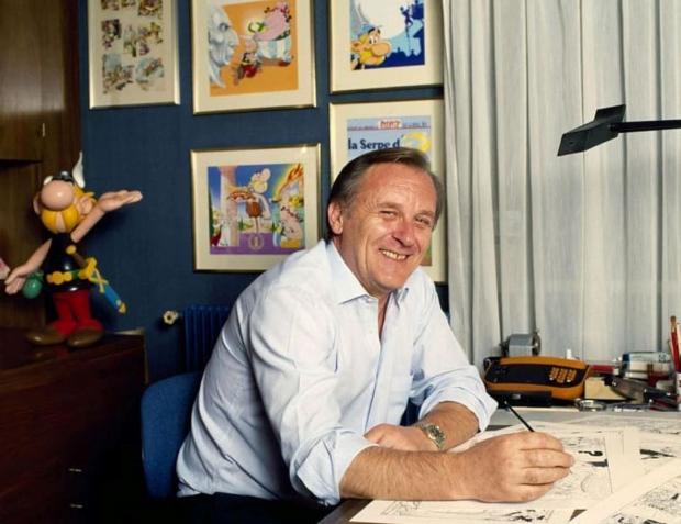 Умер Альбер Удерзо – создатель комиксов про Астерикса скончался на 93-м году жизни