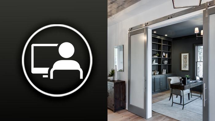 5 Best Home Office Door Sliding Office Door Ideas Rustica Hardware