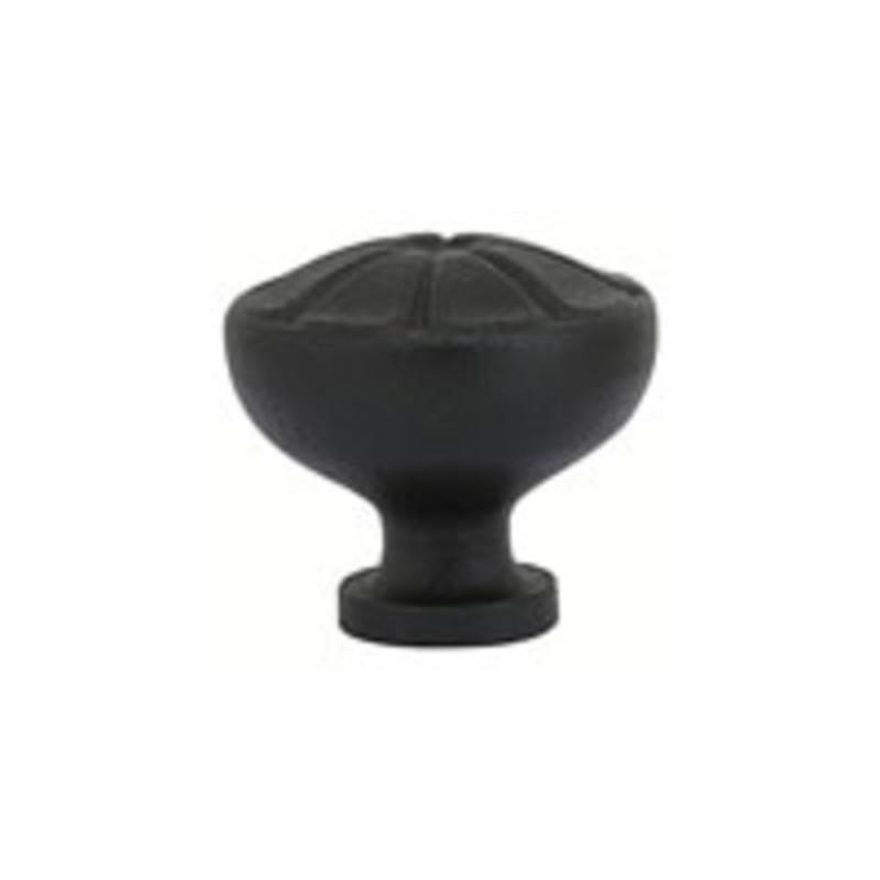 Wrought Steel Petal Knob 1-3/4