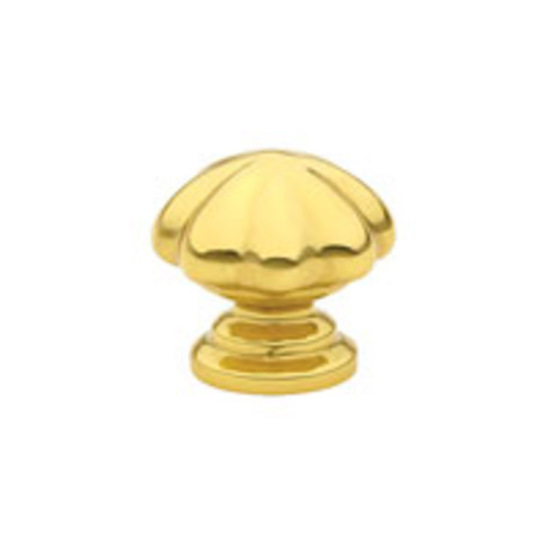 Brass Melon Knob 1-3/4