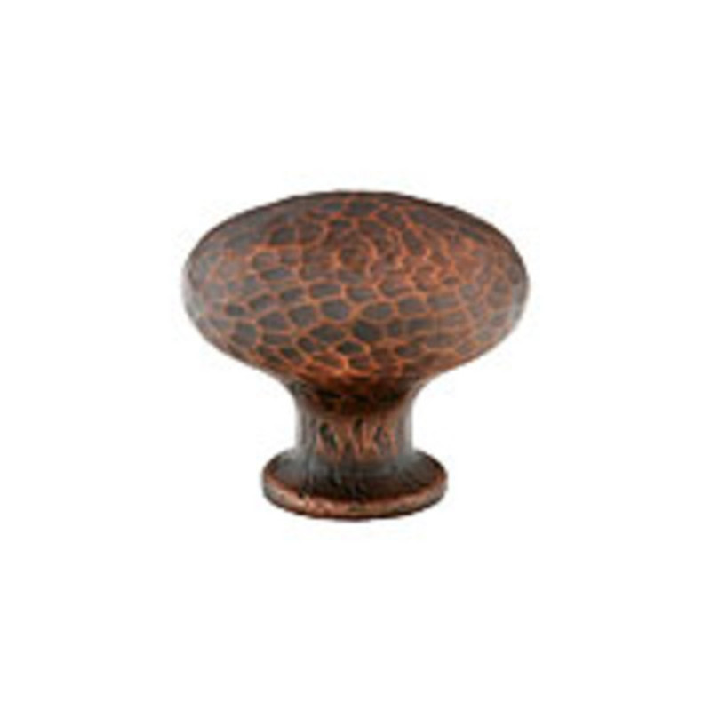 Round Dimpled Knob 1-1/4