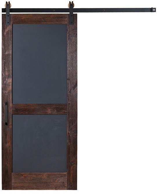 Farmhouse Sliding Door Wall: Chalkboard Barn Door: Interior & Sliding Barn Doors