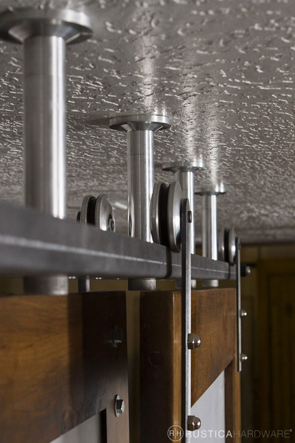 Ceiling Mounted Sliding Barn Door Track Rustica Hardware