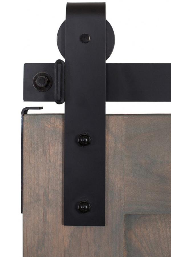Flat Sliding Barn Door Track Rustica Hardware