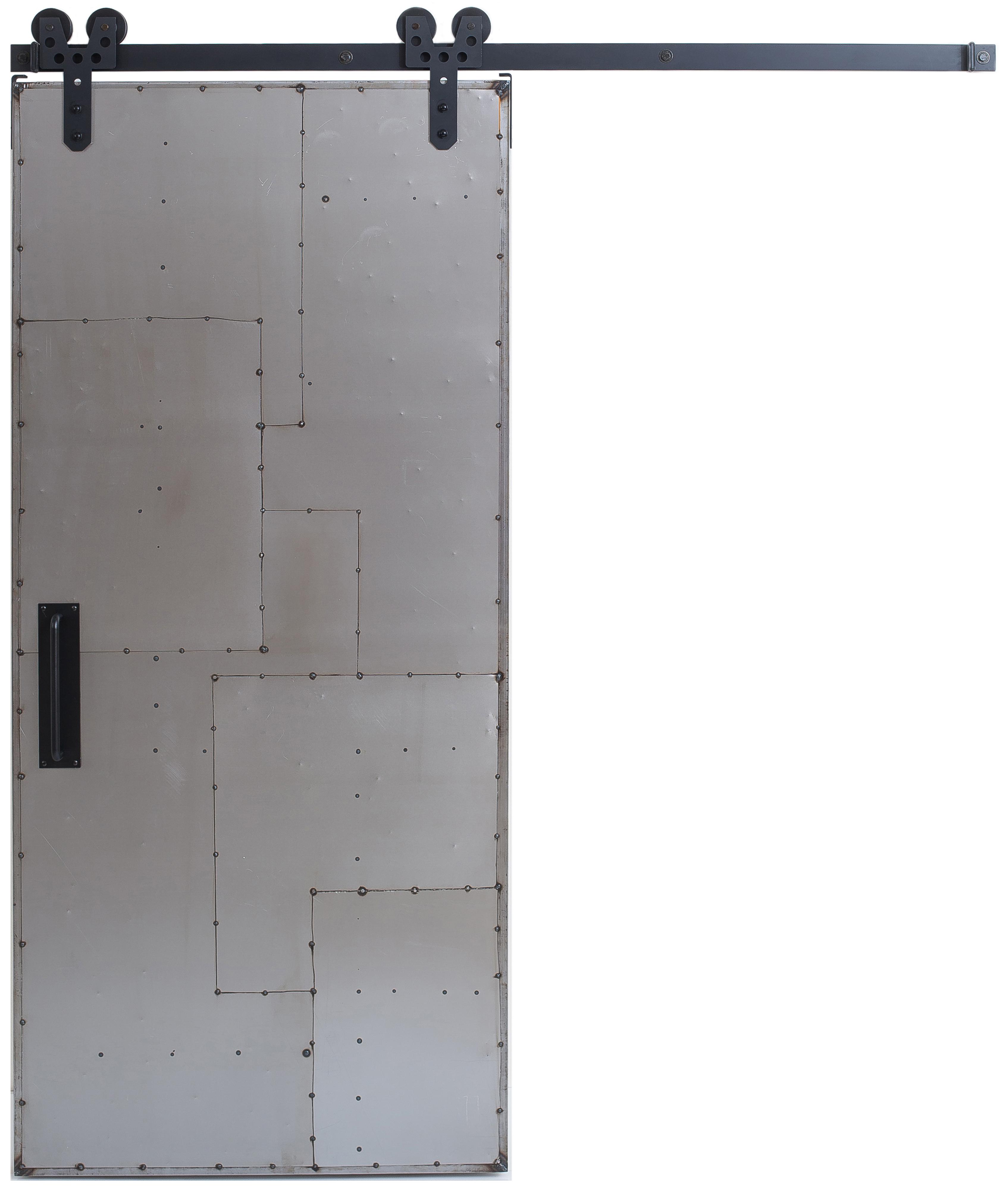 Scrap Metal Barn Door Sliding Metal Barn Doors Rustica