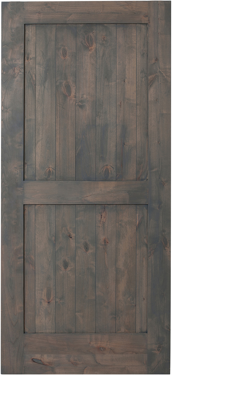 2 Panel Barn Door Hinged 2 Panel Barn Doors Rustica