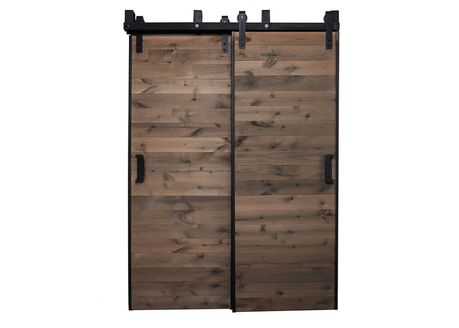 barn sliding bypass austin in hardware home barns door doors