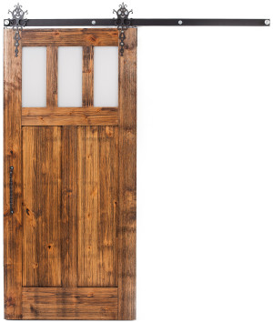 Craftsman Barn Door