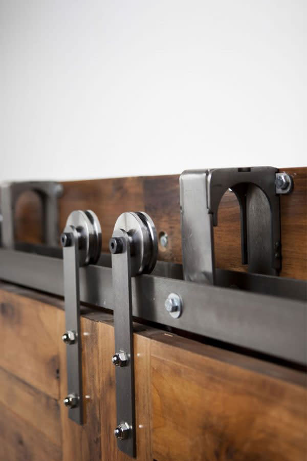 Heavy Duty Bypass Barn Door Hardware