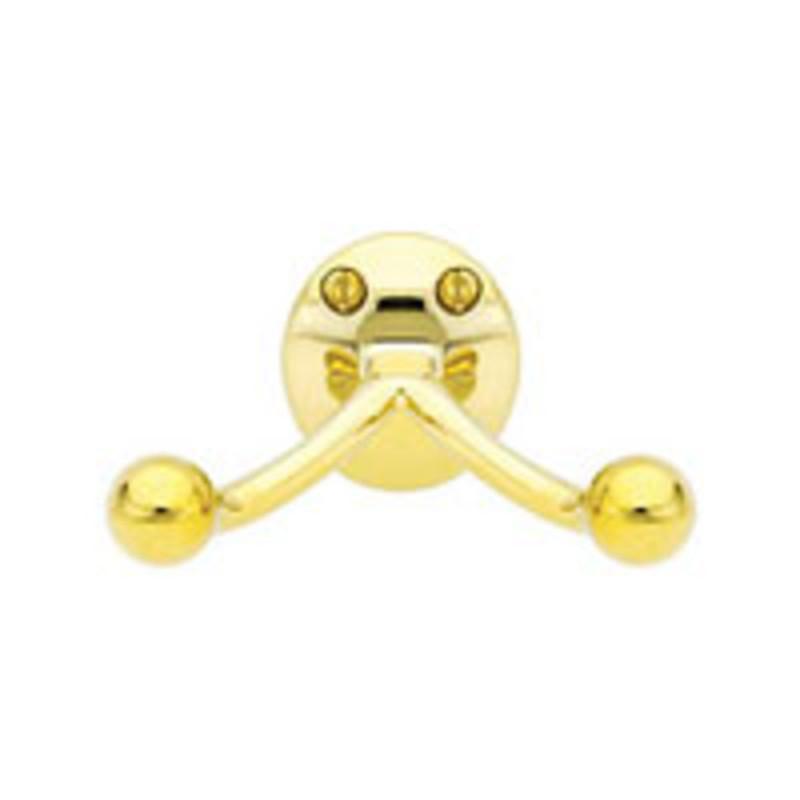 Brass Double Hook