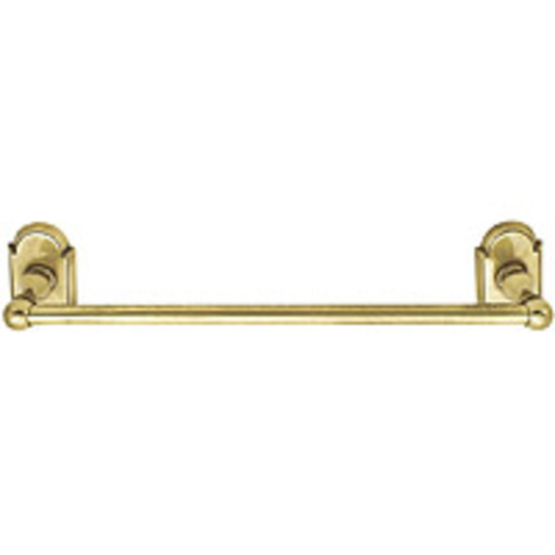Brass Towel Bar 18in