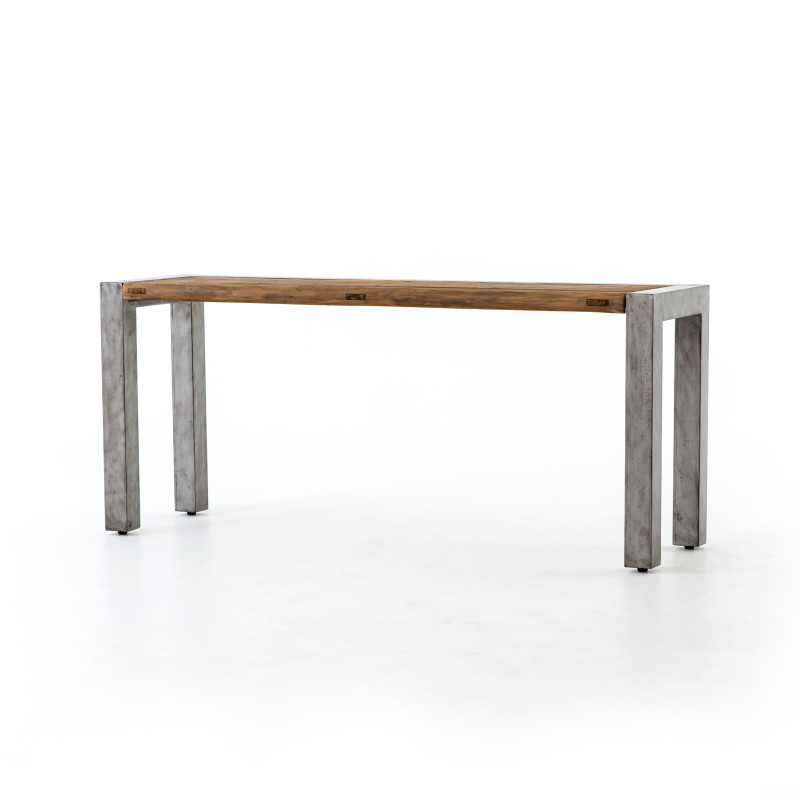 Shea Rustic Reclaimed Wood Console Table