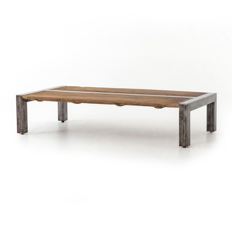 Shea Parsons Style Inlaid Wood Coffee Table