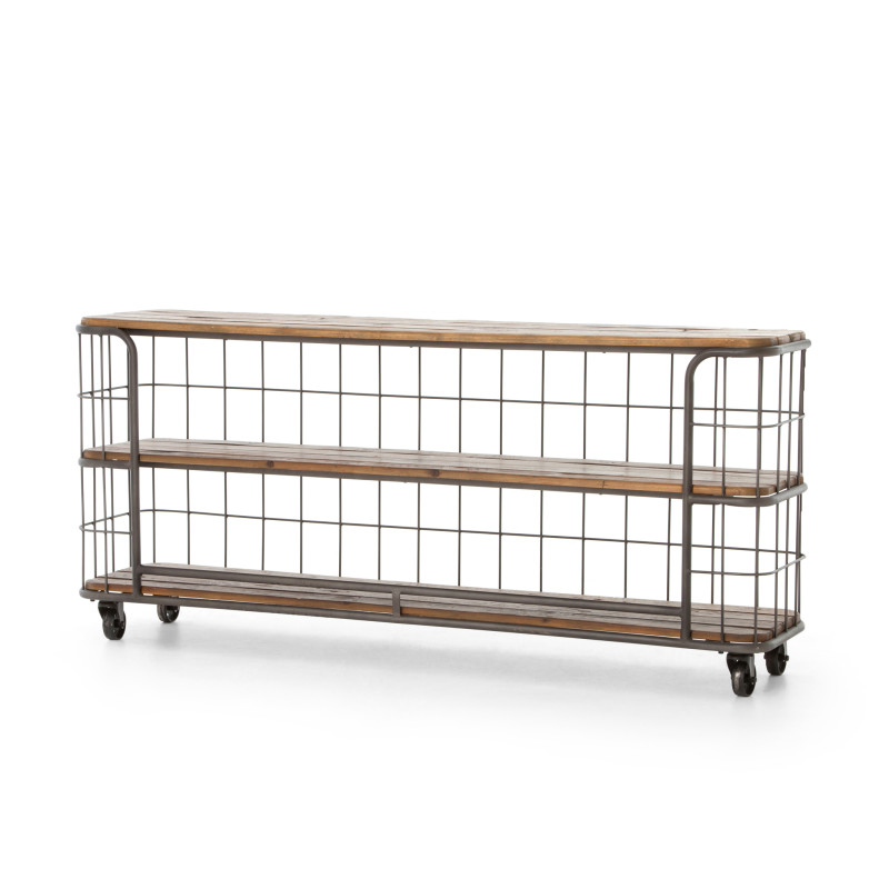 Baker's Rack Console Table