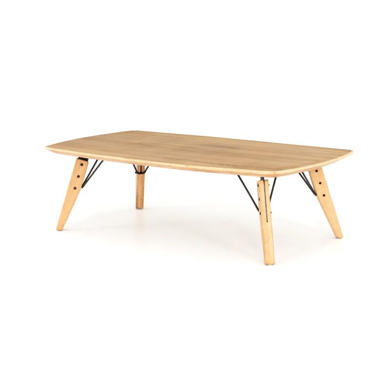 Thoreau Slim, Light Oak Coffee Table