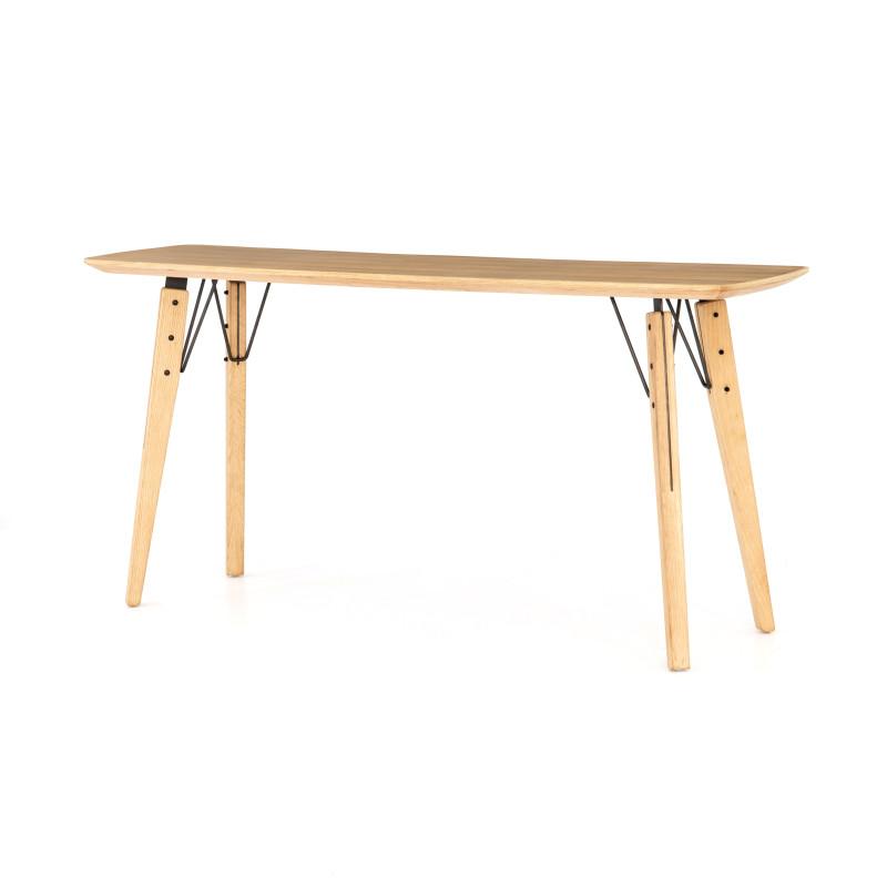 Thoreau Natural Wood Console Table
