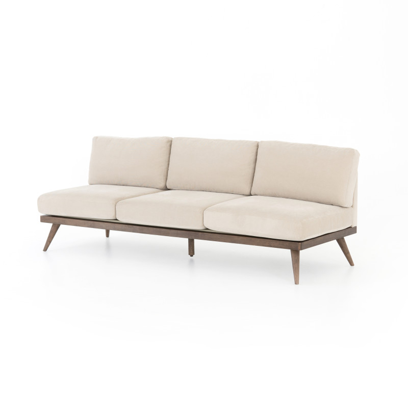 Tilly Cream Corduroy Sofa 93