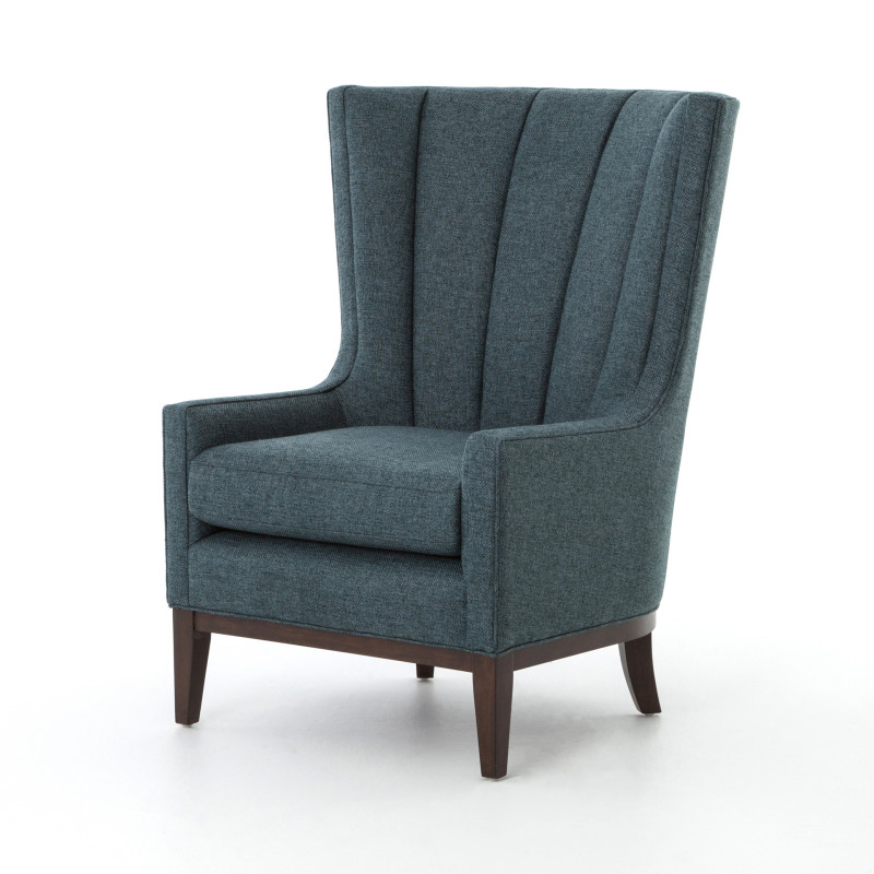Channel Back Wing Chair