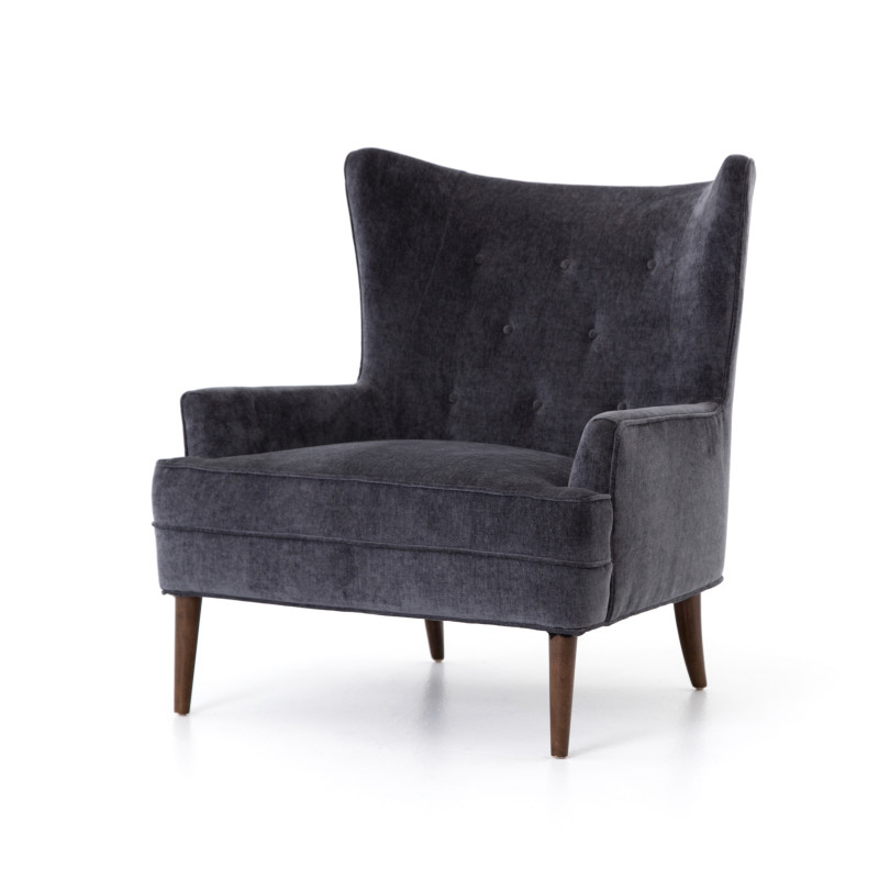 Charcoal Grey Clermont Chair