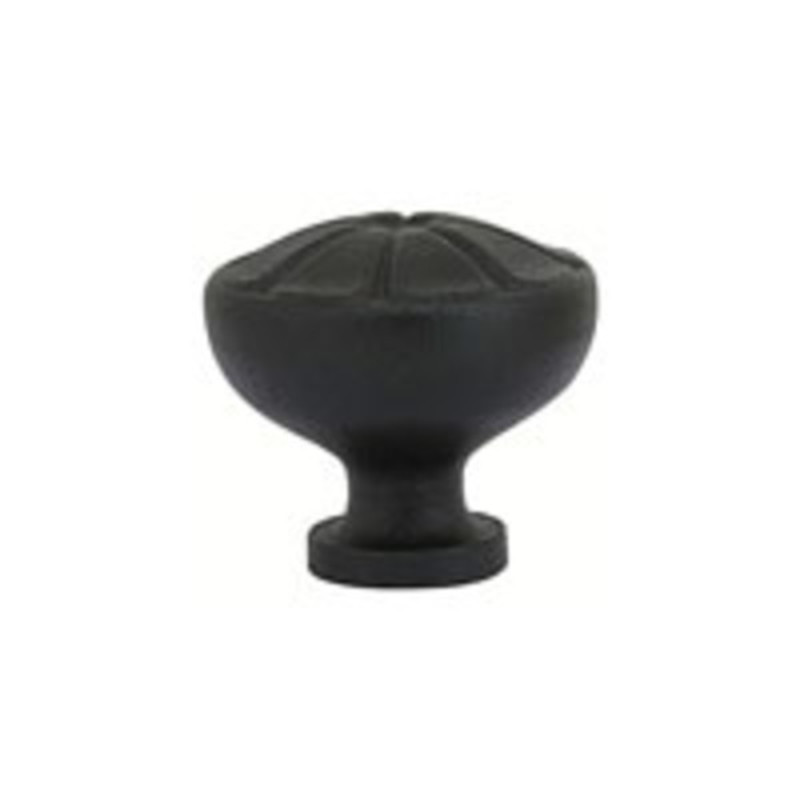 Wrought Steel Petal Knob 1-3/4
