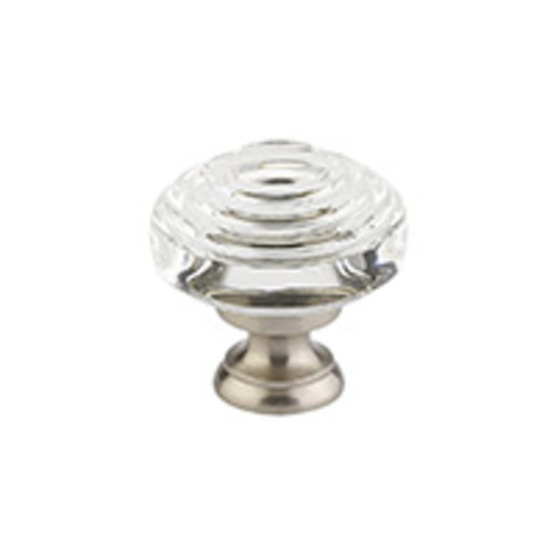 Deco Crystal Knob 1-1/4