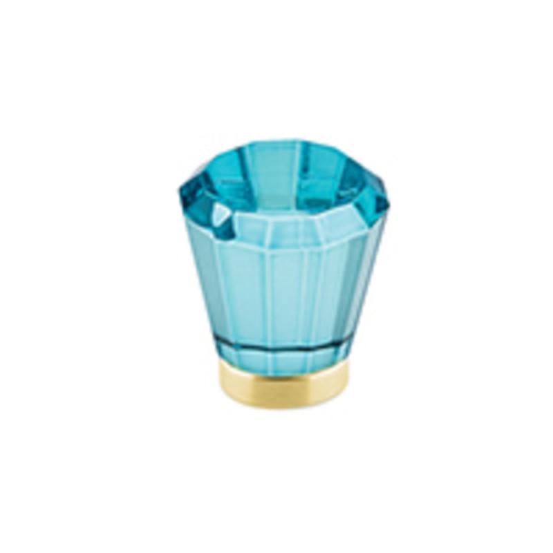 Brookmont Colored Crystal Knob 1-1/4