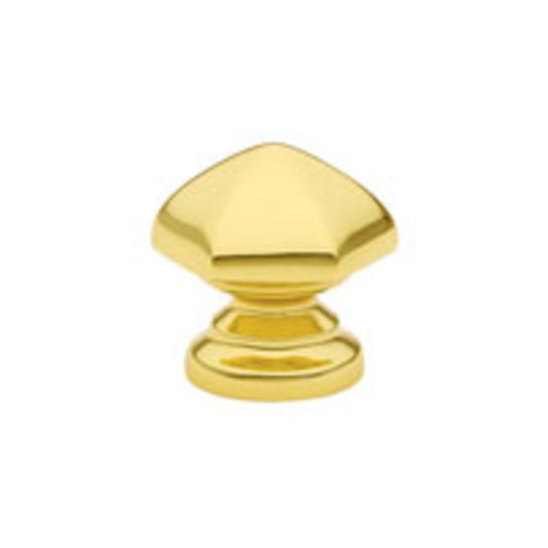 Brass Hex Knob 1-1/8