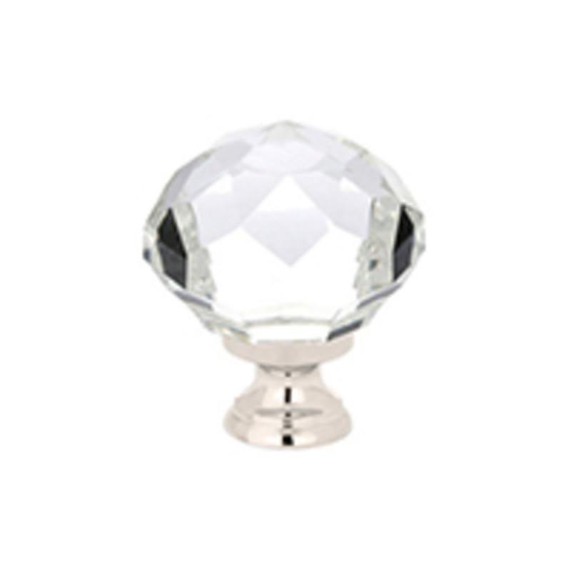 Diamond Wardrobe Knob 1-3/4