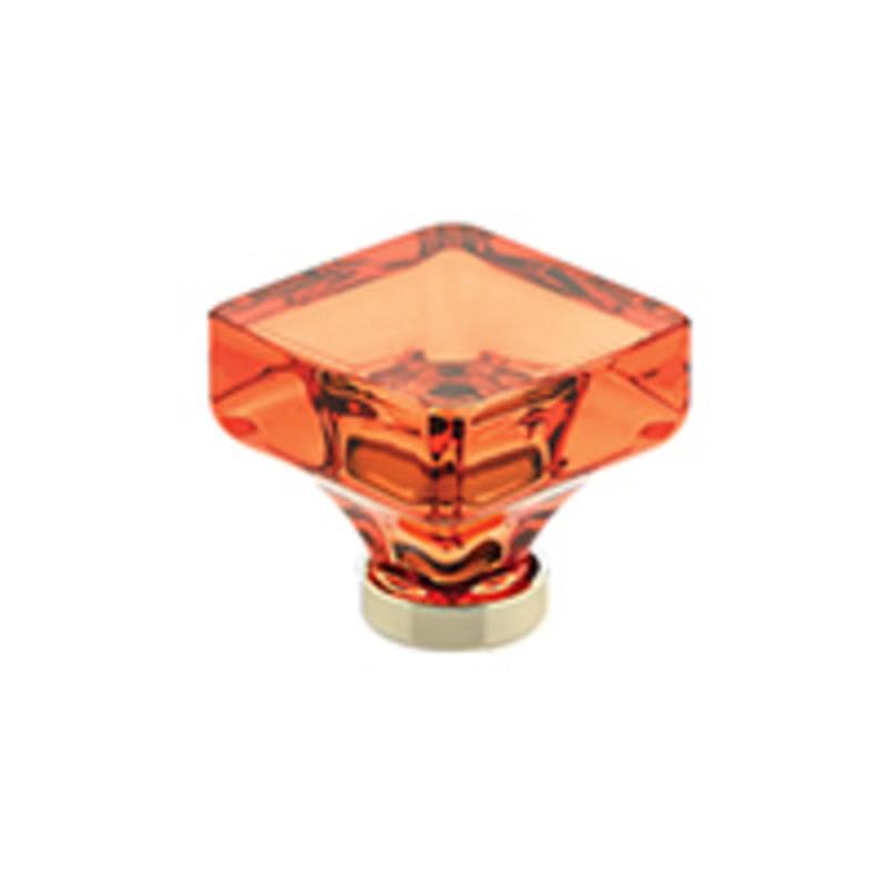 Lido Colored Crystal Knob 1-3/8