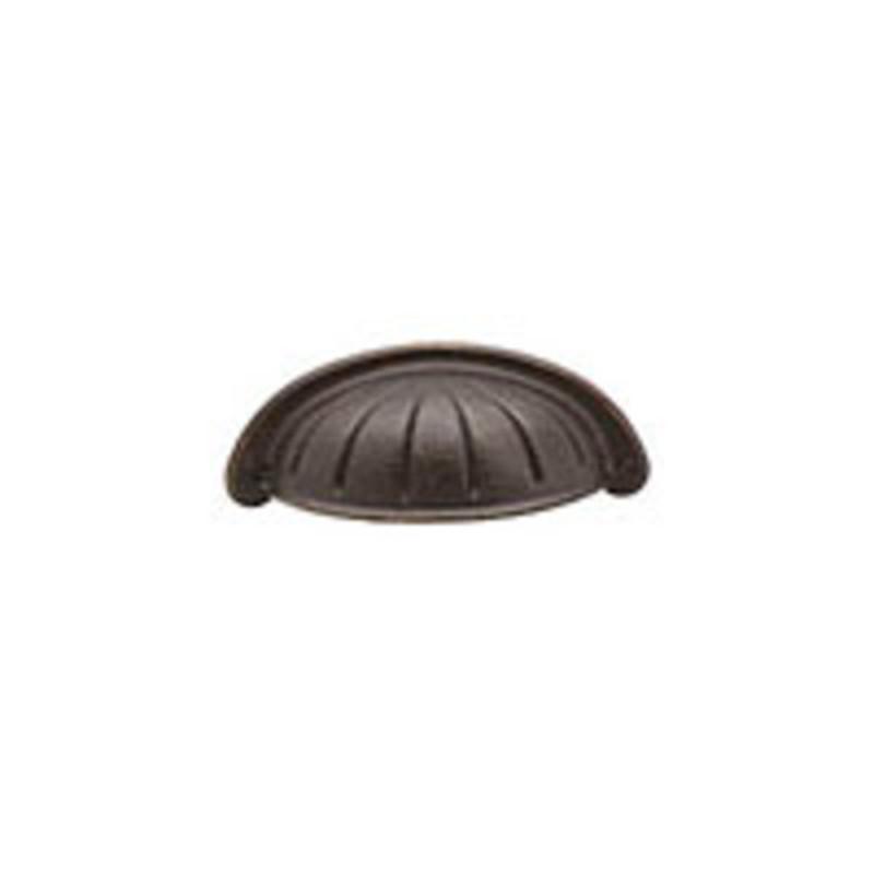 Tuscany Bronze Bin Pull 3in
