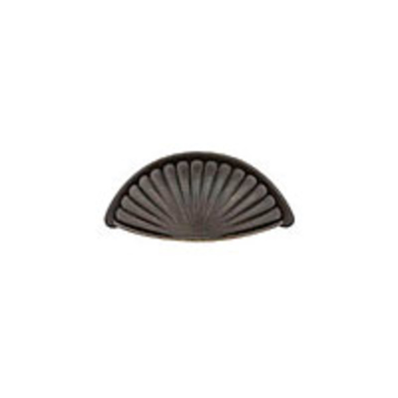 Tuscany Bronze Fluted Bin Pull 4in