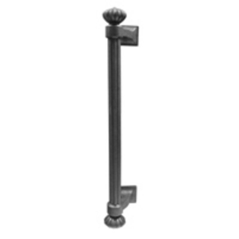 Lost Cast Wax Bronze Column Pull 18in