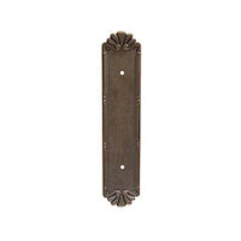 Lost Cast Wax Bronze Petal Pull Plate